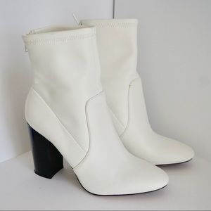 ALDO Trendy White Boots